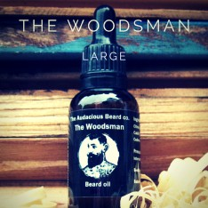 Huile pour la barbe Woodsman The Audacious Beard
