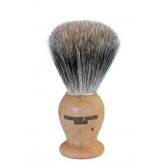 Blaireau Gentleman Barbier en bois de Cade
