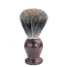 Blaireau Gentleman Barbier en bois de Palissandre