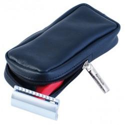 Etui en cuir pour rasoir de sécurité