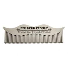 Peigne à Moustache en acier Mr Bear Family