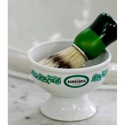 Bol de rasage motif vert Antiga Barbeira de Bairro