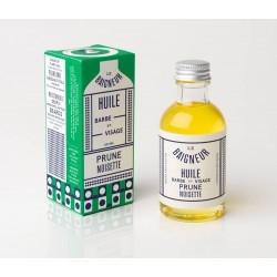 Huile Barbe/Visage Prune et Noisette Le Baigneur