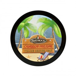 "Savon à raser ""Caribbean Holiday"" Razorock"