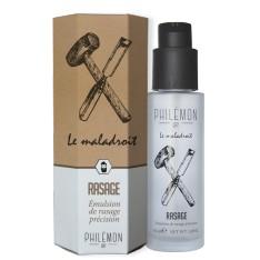 """Emulsion de rasage précision """"Le maladroit"""" Philémon 1889"""