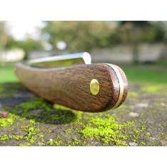 Rasoir DOVO Prima Klang en bois de bocote