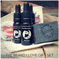 Set ST VALENTIN pour la barbe The Audacious Beard