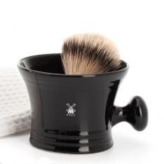 Bol à savon en porcelaine avec poignée