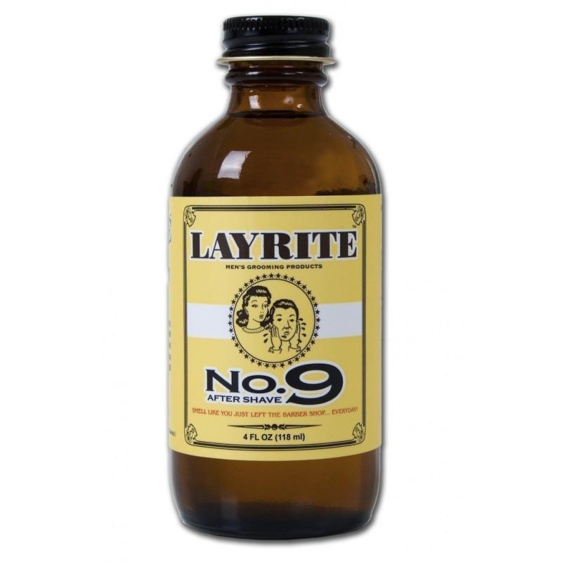 Après rasage No. 9 Bay Rum Layrite