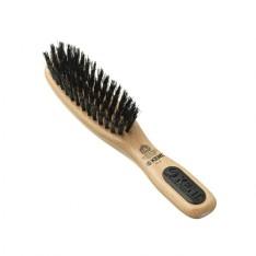 Petite brosse pour barbe avec manche Kent