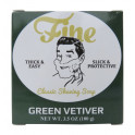 "Savon de rasage ""Green Vetiver"" Fine"