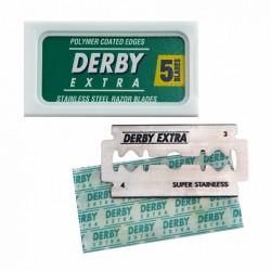 Lames DERBY Extra  de sécurité par 5