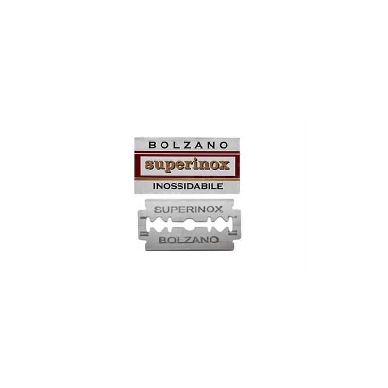 Lames Bolzano Superinox  de sécurité par 5