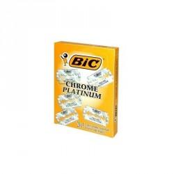 Lames Bic Chrome Platinum de sécurité par 5