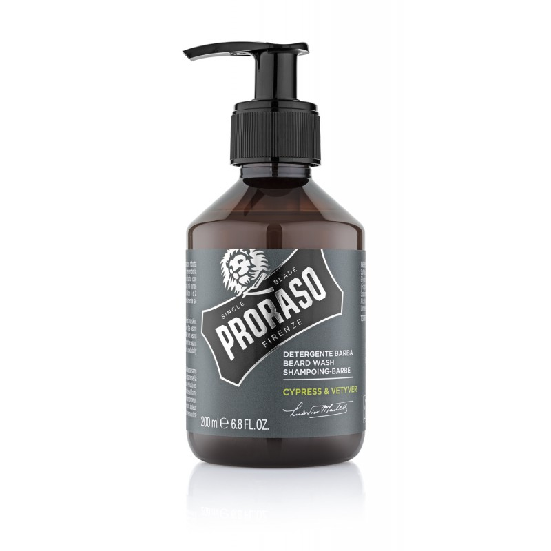 "Shampoing à Barbe Cypres et Vetiver ""Hipster"" de Proraso"
