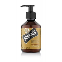 """Shampoing à Barbe Wood et Spice """"Hipster"""" de Proraso"""