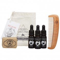 Set NOEL pour la barbe The Audacious Beard