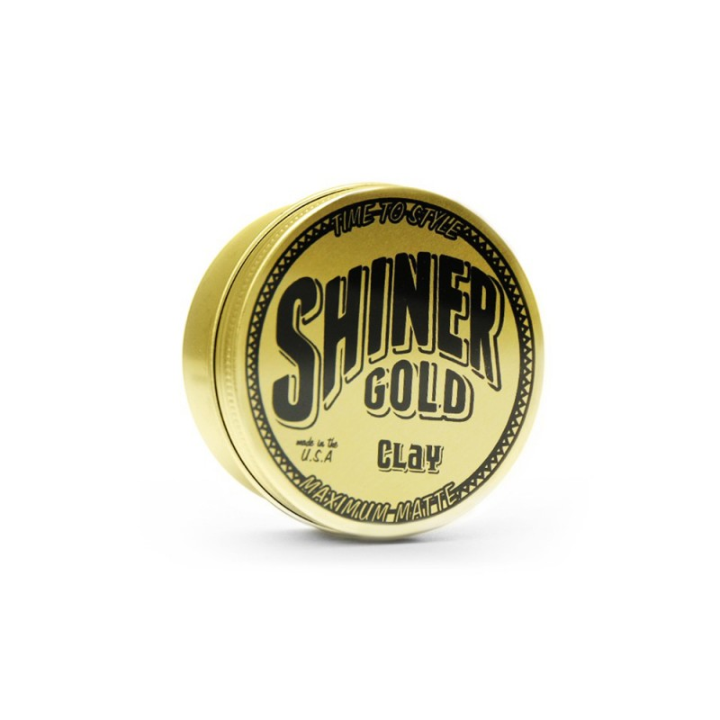 Pomade à l'argile Shiner Gold