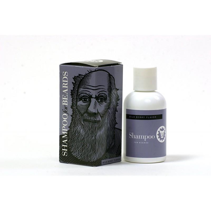 """Shampooing barbe aux fruits rouges """"Darwin"""" Beardsley"""