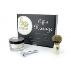 Coffret de rasage N°1 Osma Tradition