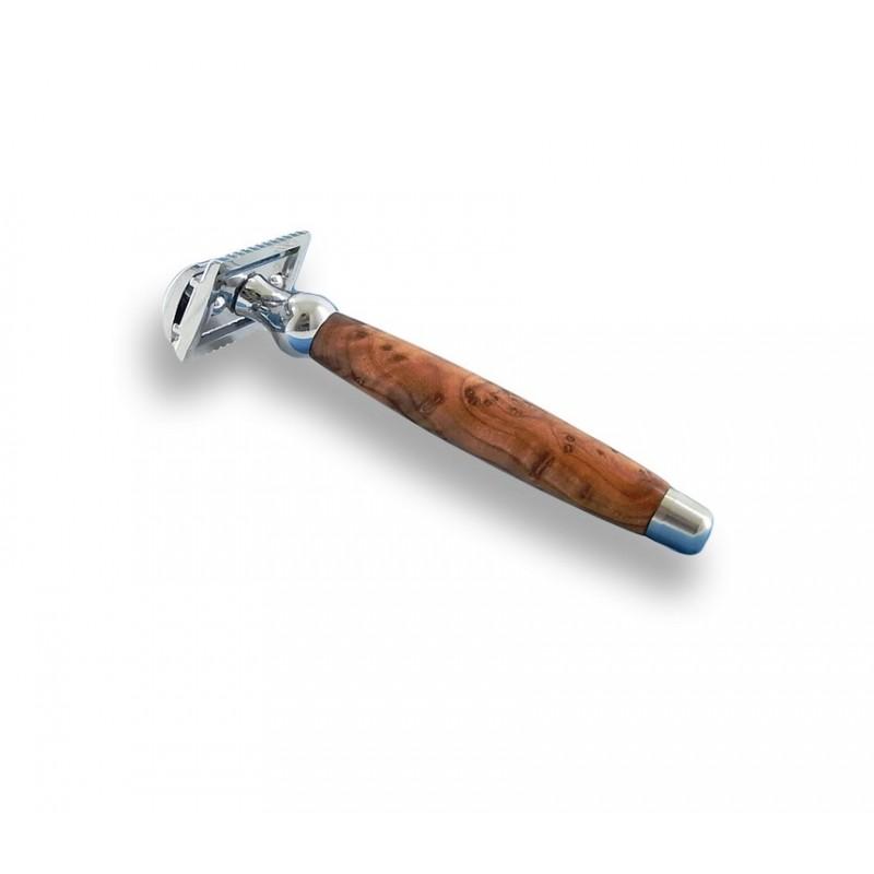 Rasoir de sécurité bois de thuya Gentleman Barbier