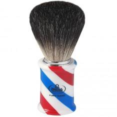 "Blaireau Omega foncé ""Barber Pole"""