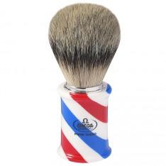 """Blaireau Omega """"Barber Pole"""""""