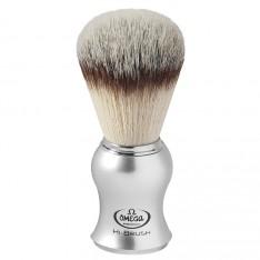 Blaireau Omega Hi-Brush argent