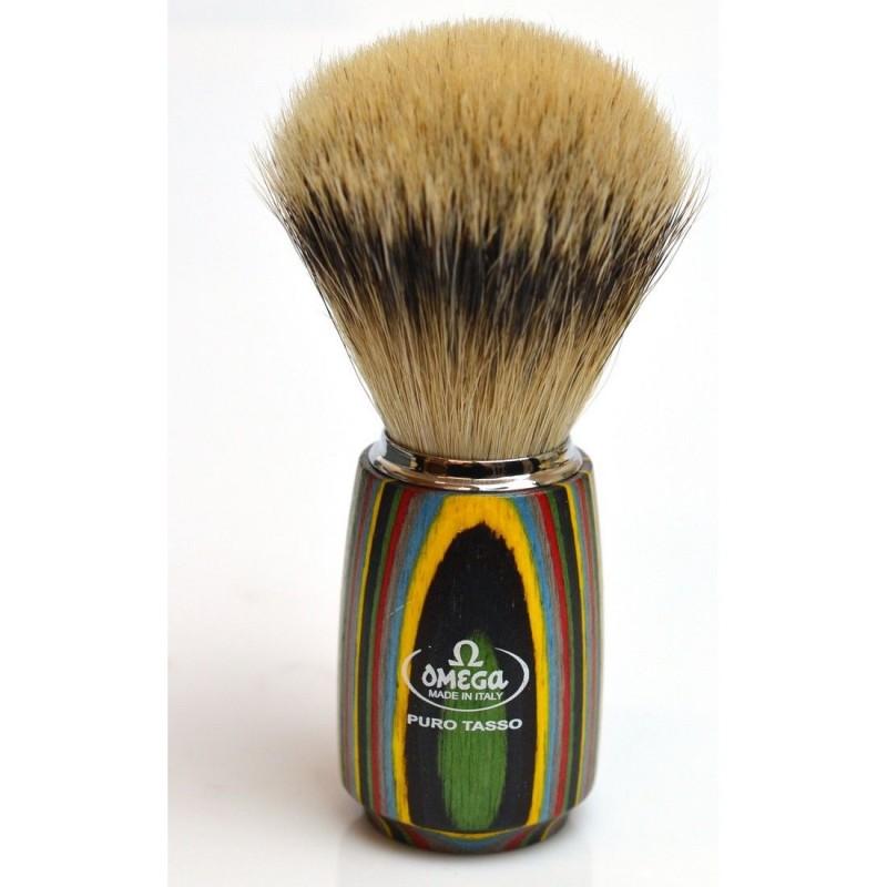 Blaireau Omega bois multicolore 6753