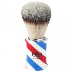 """Blaireau Omega """"Barber Pole"""" 46735"""