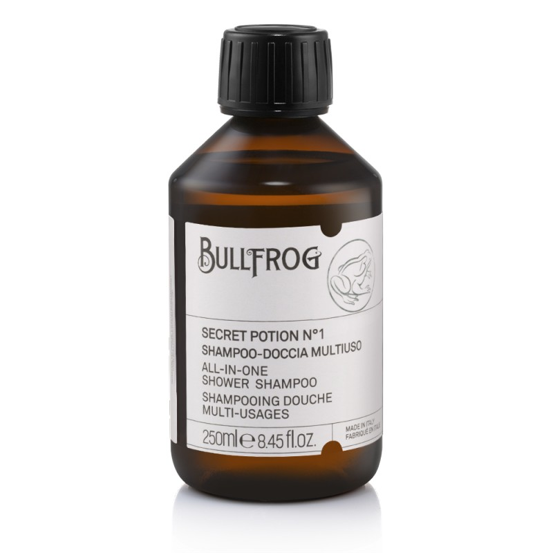 "Shampooing douche ""Secret Potion N°1"" Bullfrog"