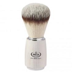 Blaireau Omega Hi-Brush frêne blanc 46711