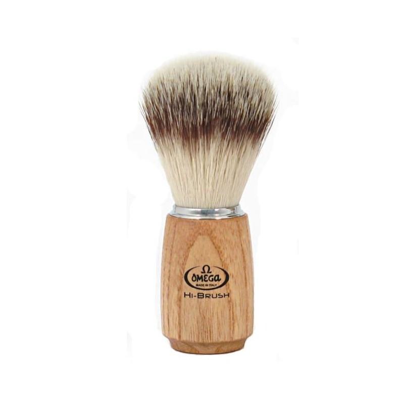 Blaireau Omega Hi-Brush bois de frêne 46150