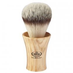 Blaireau Omega Hi-Brush bois de frêne 46713