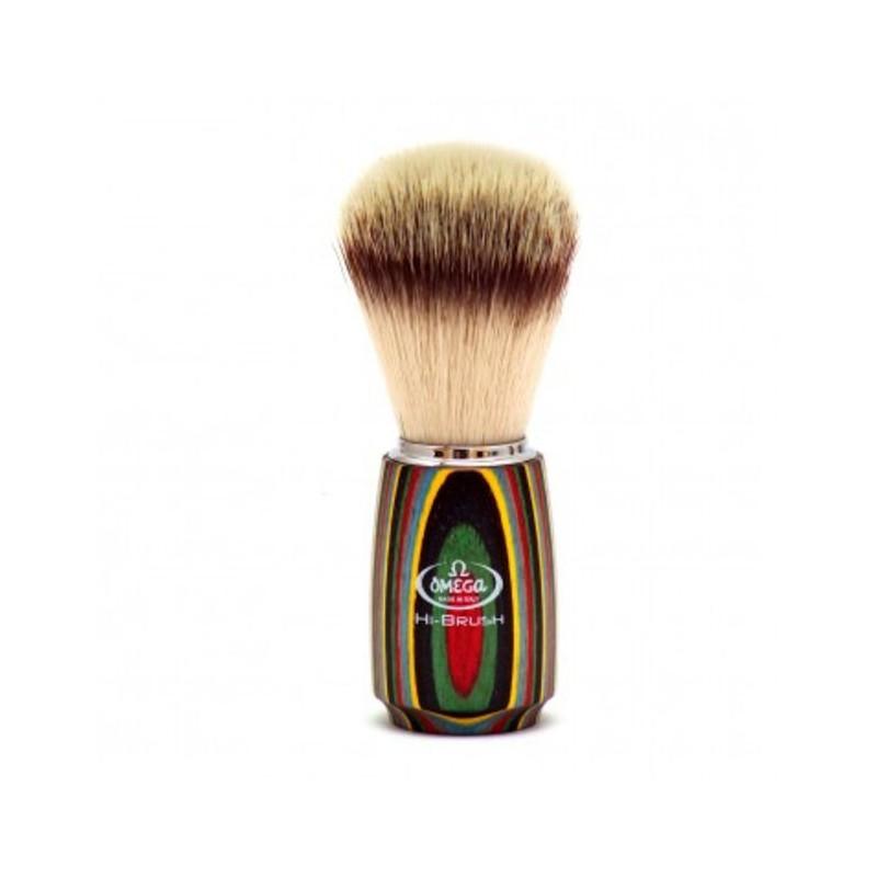 Blaireau Omega Hi-Brush bois muticouches 46751