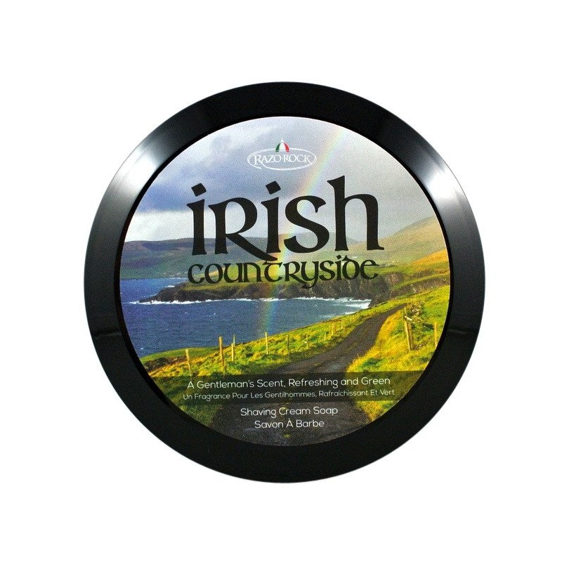 "Savon à raser ""Irish Countryside"" Razorock"