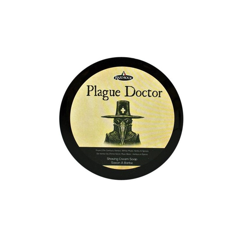 """Savon à raser """"Plague Doctor"""" Razorock"""