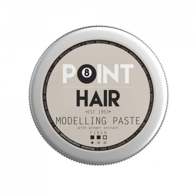 Pâte modelante fixation moyenne pour les cheveux Point Barber