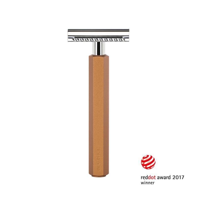 Rasoir de sécurité Mühle HEXAGON Bronze