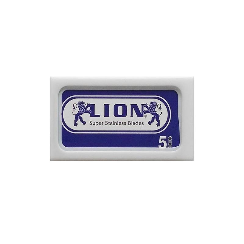 Lames LION Super Stanless de sécurité par 5