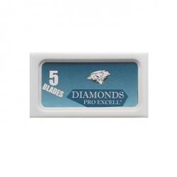 """Lames DIAMONDS """"Pro Excell"""" de sécurité par 5"""