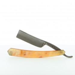 Rasoir coupe choux Thiers-Issard 6/8 Damas chasse en corne de bélier