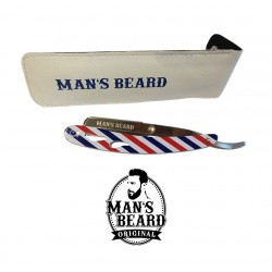 Rasoir Shavette Barber Pole Man's Beard
