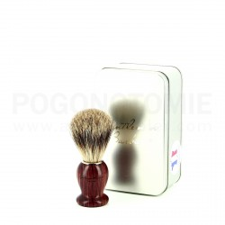 Blaireau Gentleman Barbier en bois de Violette
