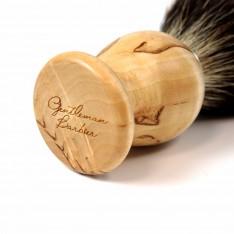 Blaireau Gentleman Barbier en Bouleau