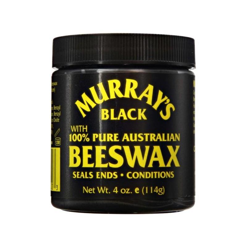 Cire coiffante noire Beeswax Murray's