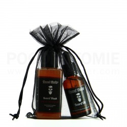 "Pack shampoing et huile à barbe ""Poire Chocolat"" Beard Feeder"