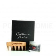 Coffret Barbe N°2 Gentleman Barbier & ArtduBarbier