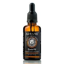 Huile à barbe Cèdre et Muscade 30 ml AZBANE