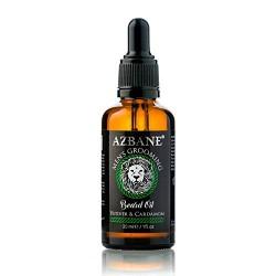 Huile à barbe Vétiver et Cardamome 30 ml AZBANE